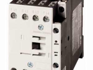 4-pole contactor, 32A/AC-1, coil 230VAC + 1 NC