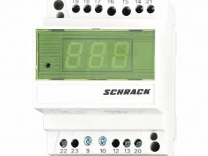 Modular ammeter for shunt, digital