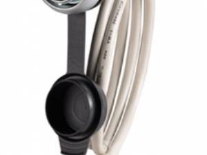 Bulkhead interface USB socket 2.0 A/A , with cable L=60cm