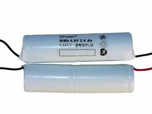 Accu 4,8V 2,4Ah for self contained luminaires 8W 3h NLxxx833