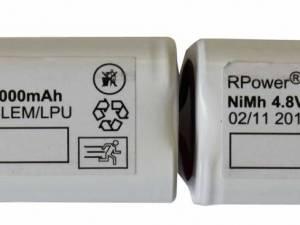 Accu 9,6V 2,0 Ah for self contained luminaires ERT-LED (LPU)