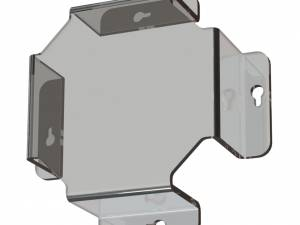 Ball protection plexiglas lxwxd=190x190x62mm, for IL/EA