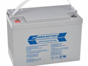 Battery set 216V 18 pcs. longlife OPzV 12V/75Ah (C10)