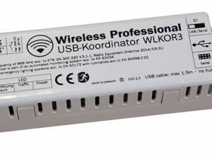 Coordinator USB to WirelessControl network