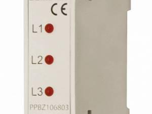 3phase LED-voltage signalling device