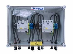 PV-lightning protection box 1000Vdc, for 2-MPP tracker