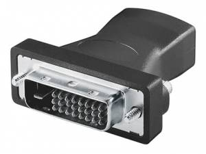 HDMI/DVI Adapter, HDMI19 female - DVI-D(24+1) male