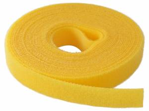 Back to back cable tie yellow 16mm x 4m