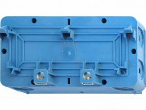 Double built-in box for wall duct Signo BK blue