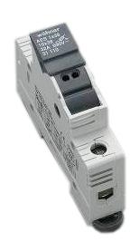 Holder for cylindrical fuse links 125A 690V 1-polig