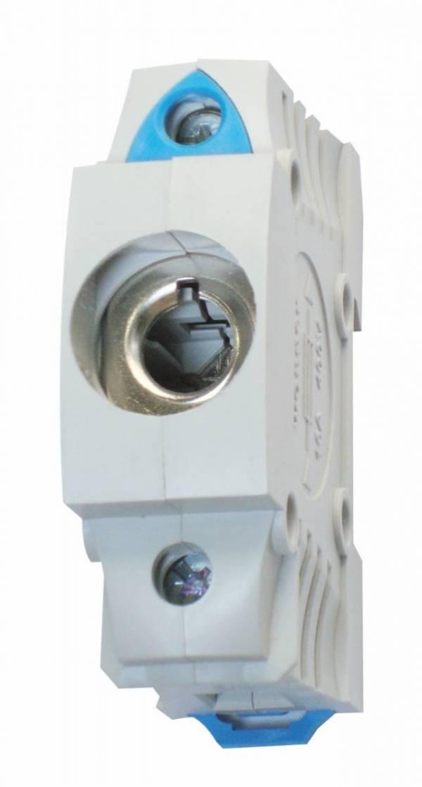 D0 fuse base, panel-mounting BGV A3, snap-on