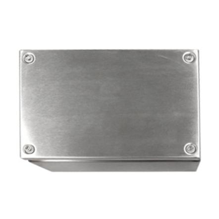 Terminal box stainl. steel 200x800x120, IP66, IK08,AISI 304L