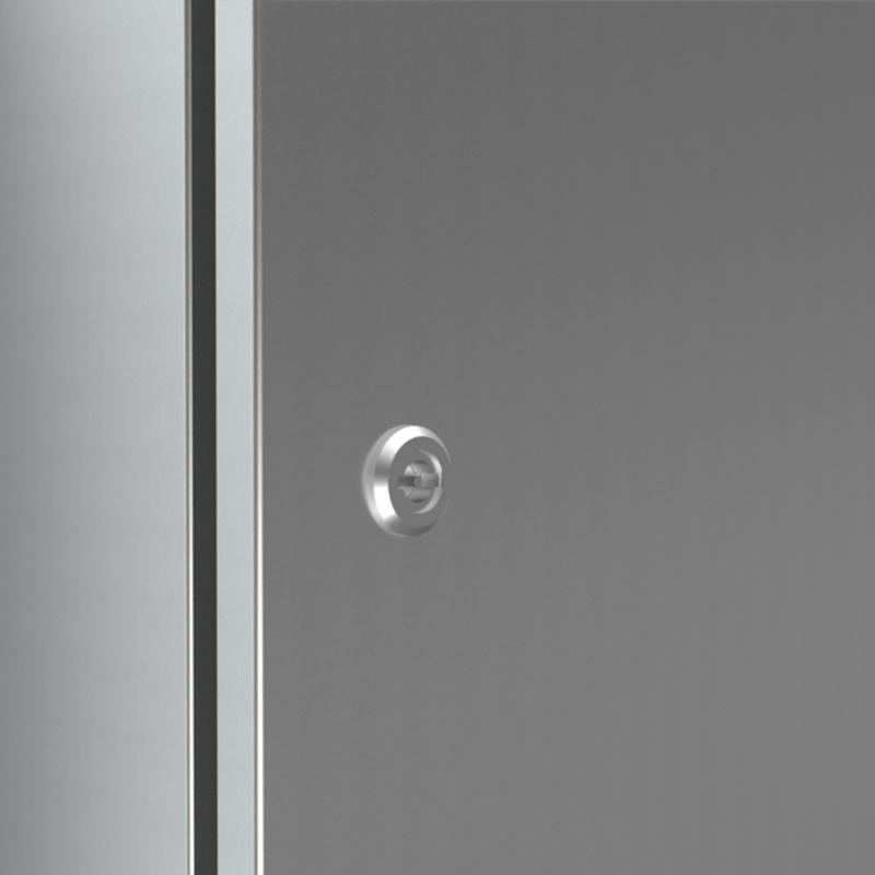 Stainless steel double bit 3mm lock