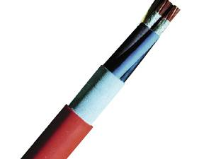 Halogen-Free Cable (N)HXH-O2x2,5re E30, orange