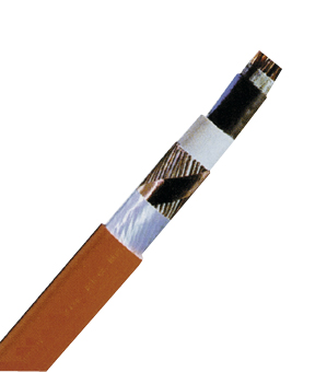 Halogen-Free Cable (N)HXCH3x1,5re/1,5 E90, orange