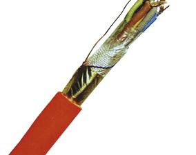 Fire Alarm Cable JE-H(ST)H 4x2x0,8 E90 BMK red, halogenfree