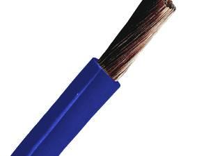 PVC Insulated Wires H05V-K 0,5mm² dark blue (fine stranded)