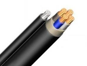 PVC Cable with Steel Carrier YMT-O 4 x 10 rm black