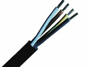 Rubber Insulated and Sheathed Cables H05RR-F 2x0,75 black