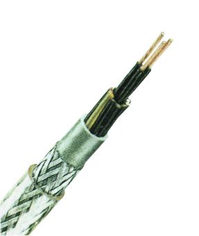 YSLYQY-JZ 18x2,5 PVC Control Cable, fine stranded, transp.