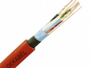 Fire Alarm Cable JE-H(ST)H 2x2x0,8 E30 BMK red, halogenfree