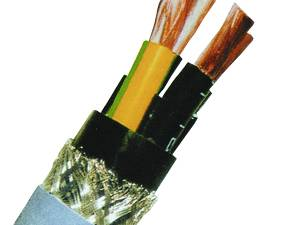 PVC Composite Connection Cable 2YSLCY 4x10 EMV Standard
