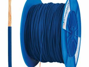 PVC Insulated Single Core Wire H05V-K 0,5mm² darkblue (coil)