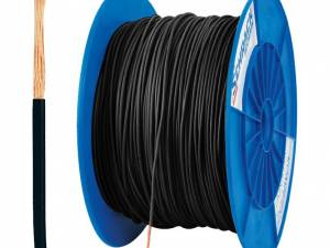 PVC Insulated Single Core Wire H05V-K 0,75mm² black (coil)