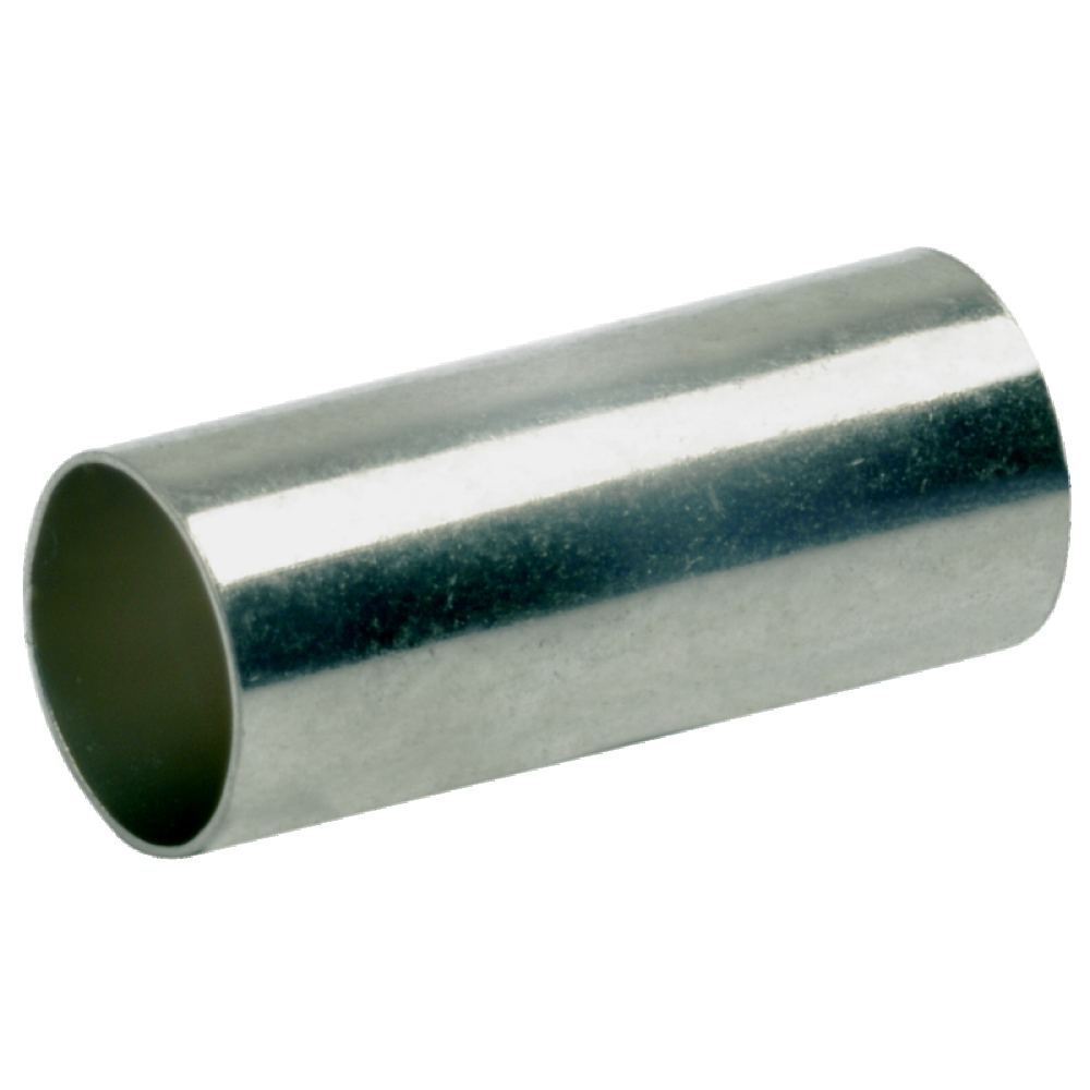 Tube for 35mm²,compressed conductor,zinc plated,DIN-version