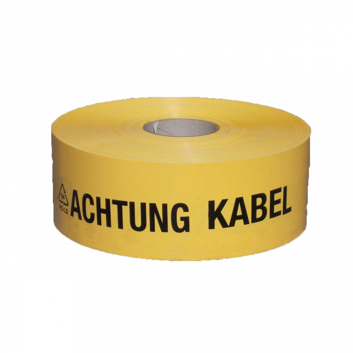"Cable warning tape ""ACHTUNG KABEL"", 100/0,25mm"
