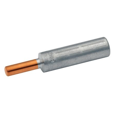 Al-Compression joints with Cu-connecting bolt, 95mm²