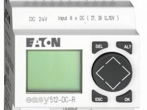 EASY512DCR-24VDC,controlrelay, 8IN-digital, 4OUT-relays