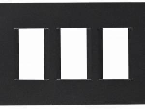 Cover frame bathroomset black