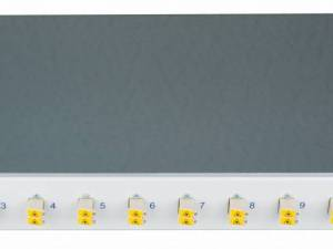 "FO Patchpanel 19"", 1U, sliding, for 4 fibers, LC, MM"