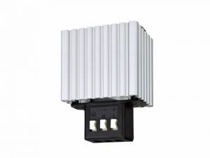Cabinet heater 30W, terminal connection 90°