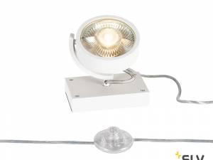 KALU QPAR111 1 FLOOR, Floor lamp, white, max. 75W
