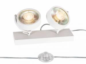 KALU QPAR111 2 FLOOR, Floor lamp, white, max. 75W