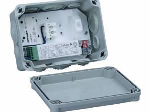 Box IP65 with mounting plate + MU05 f. luminaires  4-200VA